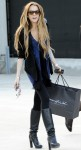 Lindsay Lohan shops at Maxfields in West Hollywood, Ca