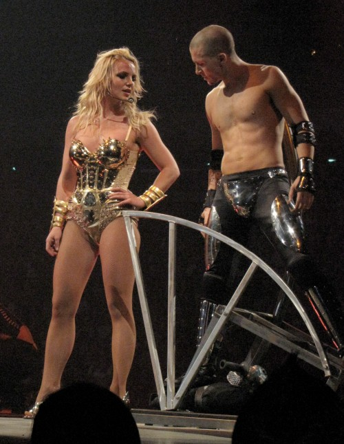Britney Spears returns to the stage on the 1st night of her Circus Tour at the Superdome in New Orleans, LA