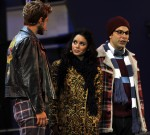 Vanessa Hudgens portrays Mimi in a special performance of Rent at the Hollywood Bowl in Hollywood, Ca