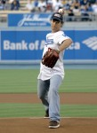 Matthew McConaughey throws ceremonial first pitch